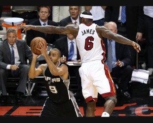 San Antonio Spurs v Miami Heat - Game One