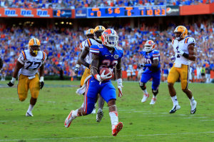 Florida won a 14-6 decision over LSU in the last meeting at The Swamp in 2012.