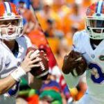 Jeff Driskel and Treon Harris will split time Saturday vs. Missouri.