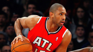 Al Horford was the catalyst in Atlanta's ninth straight win Tuesday night.
