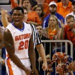 Michael Frazier hit three of his first four shots before spraining his ankle vs. UK.