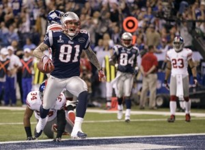 Aaron Hernandez caught a TD pass in the Super Bowl at the age of 25. He's headed to prison for life at the age of 27.