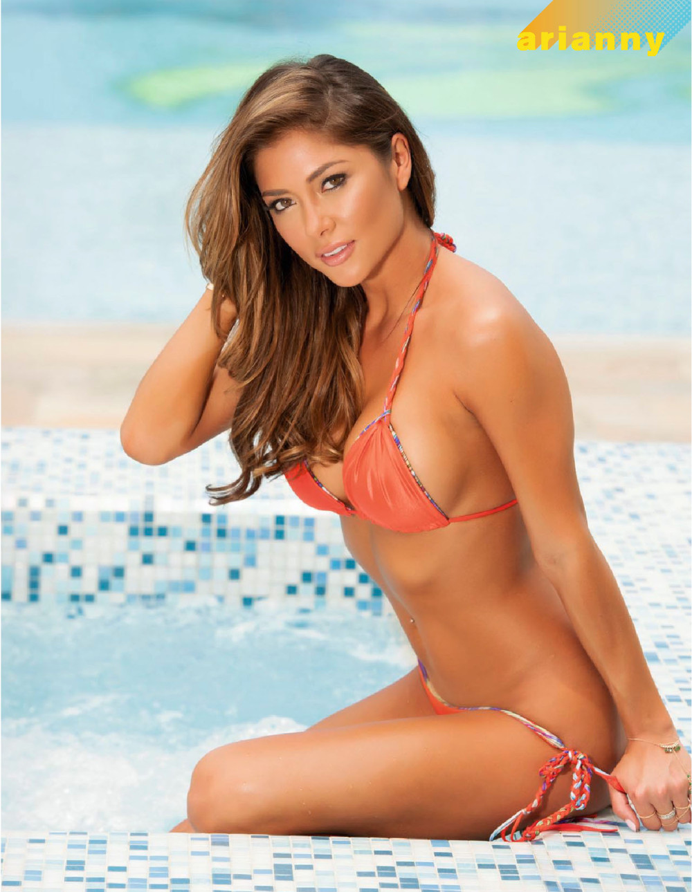 Arianny Celeste graces the cover of the August 2015 edition of FHM.