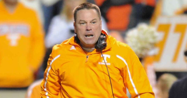 Butch Jones has been throwing out ready-made excuses all week, including how many of his players will be getting on an airplane for the first time ever for the trip to Gainesville.