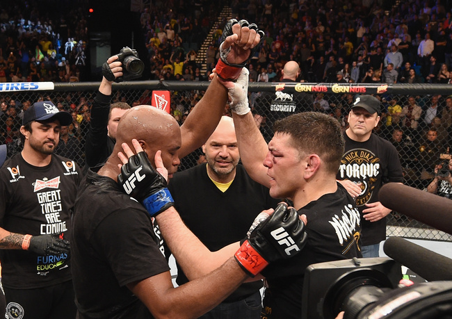 Anderson Silva used steroids before fighting Nick Diaz, who smoked weed. Nevertheless, Diaz was banned from fighting for 51 more months than Diaz.