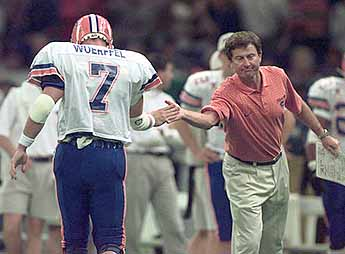 On Jan. 2 of 1997, Steve Spurrier coached his masterpiece game as Florida skunked FSU 52-20 in New Orleans to win the school's first 'national.'