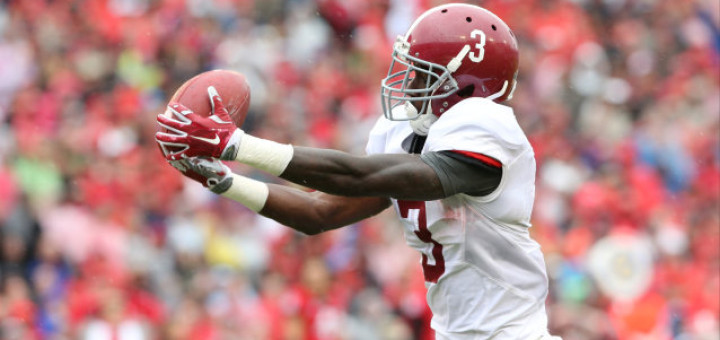 09-03-15  MFB Georgia  Alabama wide receiver Calvin Ridley (3)    Photo by Kent Gidley