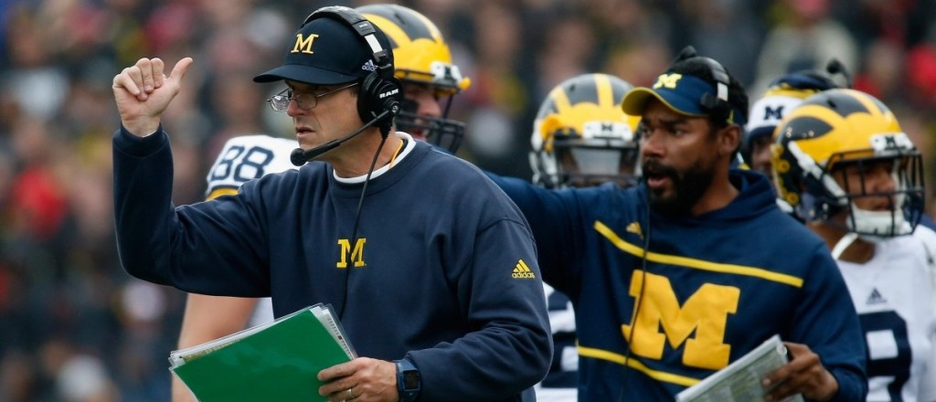 Jim Harbaugh's first Michigan team finished 9-3 in the regular season and will face Florida in Orlando on New Year's Day.