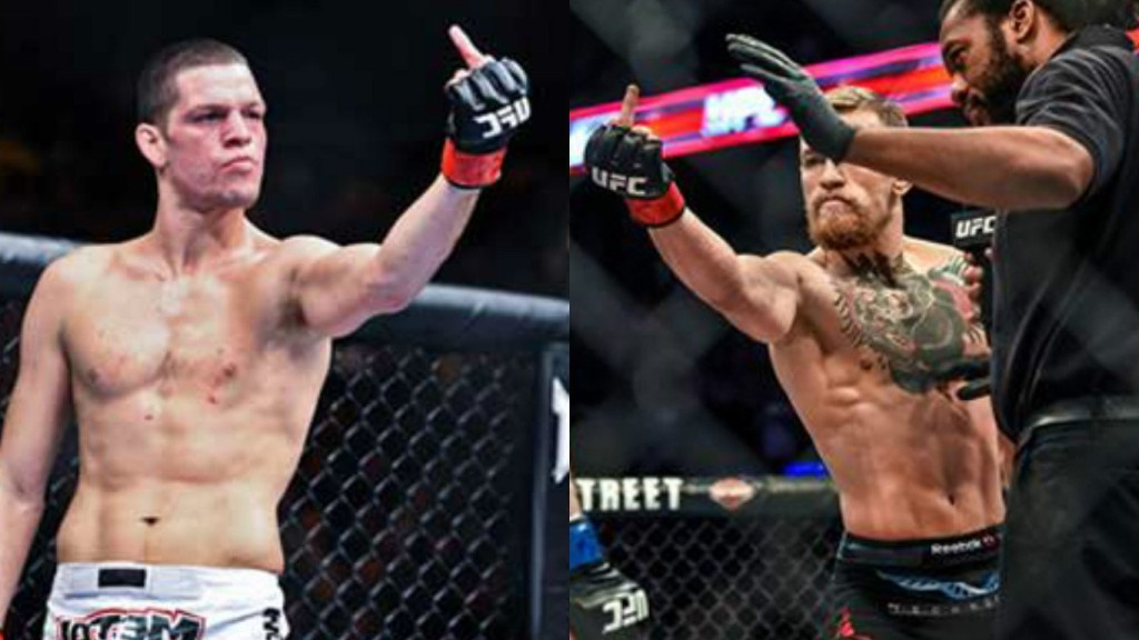 Conor McGregor and Nate Diaz will collide in the UFC 196 main event in Las Vegas. The five-round headliner will be contested at welterweight.