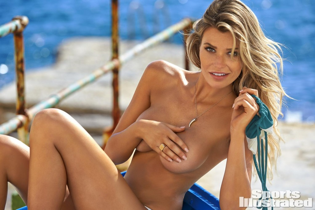 Samantha Hoopes made her third career appearance in this year's SI Swimsuit issue.