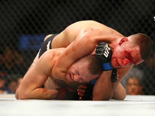 Nate Diaz took home at least $600,000 after beating Conor McGregor by rear-naked choke in the second round at their UFC 196 showdown.