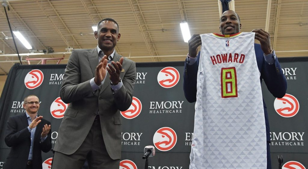 Even with the acquisition of Dwight Howard, the Hawks are 80/1 longshots to win their first NBA title in 2017.