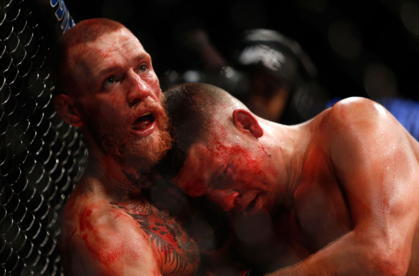 Conor McGregor won a majority decision (48-47, 47-47, 48-47) over Nate Diaz in the UFC 202 headliner as a -135 'chalk.'